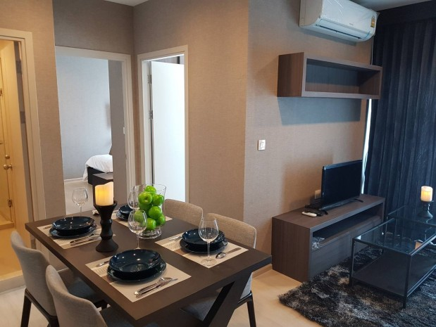 BKKMOVE Agency's Life Sukhumvit 48 47 sqm 2 bedroom 2 bedroom Corner unit with unobstructed views Great facilities Available now for rent!! 1