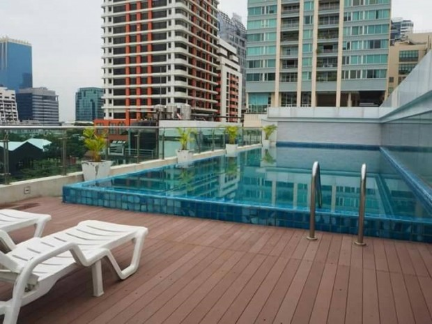 BKKMOVE Agency's Focus on Saladang 34.28 sqm 1 bedroom 1 bathroom ready to move in fully furnished for sale Well price!! 4
