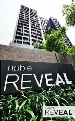 BKKMOVE Agency's Noble Reveal 50 sqm 1 bedroom 1 bathroom ready to move in fully furnished(bathtub) for rent !! 2