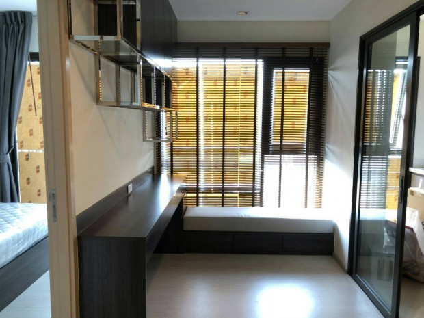 BKKMOVE Agency's Rhythm Sukhumwit 36-38 Classic luxury convenient Beautiful fully furnished ready to move 33 sqm. 1 bedroom 1 bathroom for rent well price!! 6