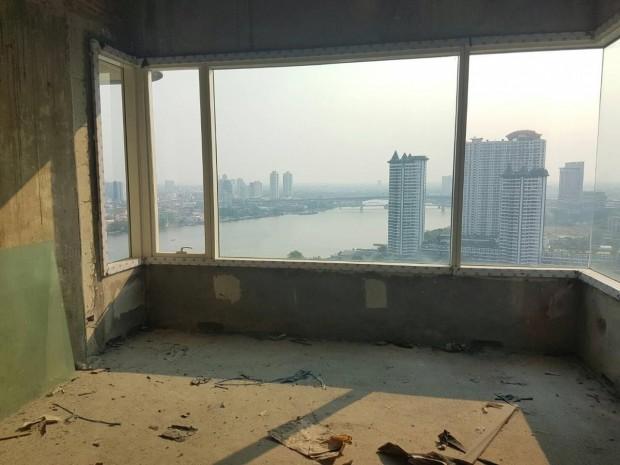 BKKMOVE Agency's Watermark Chaophraya River PH bldg B  bareshell Sale sqm 130,000 2
