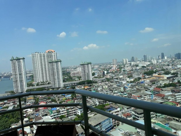 BKKMOVE Agency's Watermark Chaophraya River Condo, high floor 97sqm 2 bedroom 2 bathroom for rent/sale well price! 6