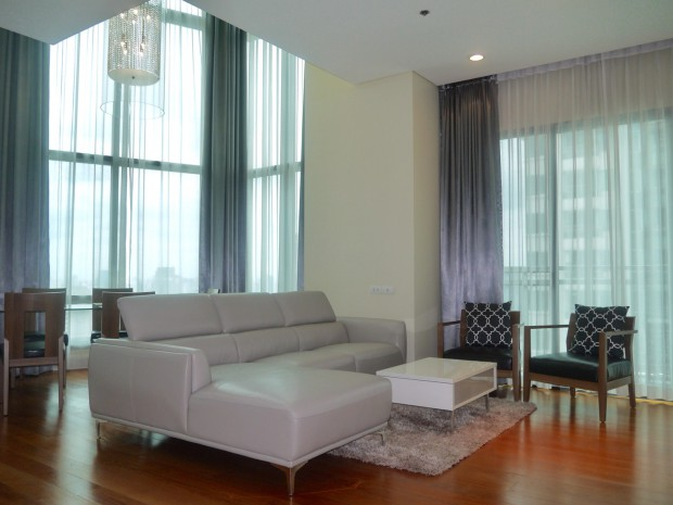 BKKMOVE Agency's 179.57sqm High Rise, Nice 3 Bedrooms Duplex Condo to let at Bright Sukhumvit 24 18