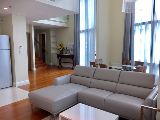 BKKMOVE Agency's 179.57sqm High Rise, Nice 3 Bedrooms Duplex Condo to let at Bright Sukhumvit 24 15