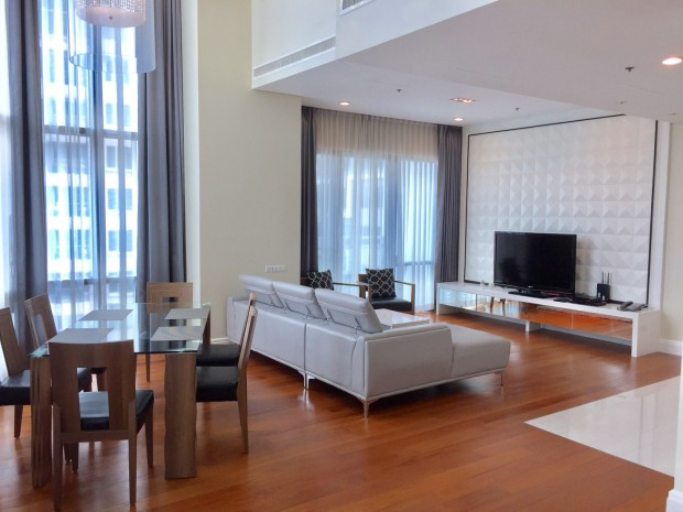 BKKMOVE Agency's 179.57sqm High Rise, Nice 3 Bedrooms Duplex Condo to let at Bright Sukhumvit 24 16