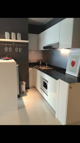 BKKMOVE Agency's 40sqm Low Rise, Nice One Bedroom Condo to rent and sale at Voque Sukhumvit 16 3