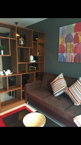 BKKMOVE Agency's 40sqm Low Rise, Nice One Bedroom Condo to rent and sale at Voque Sukhumvit 16 4